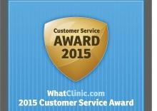 Customer Service Award 2015